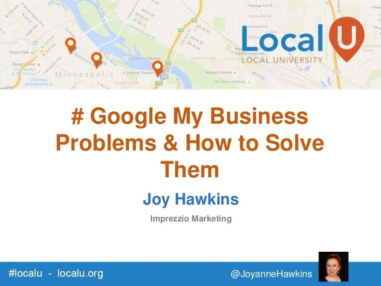 12 Google My Business Problems & How to Solve Them. #SEO #LocalSEO #GoogleMyBusiness