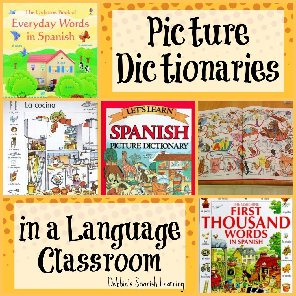 Picture Dictionaries In Language Teaching