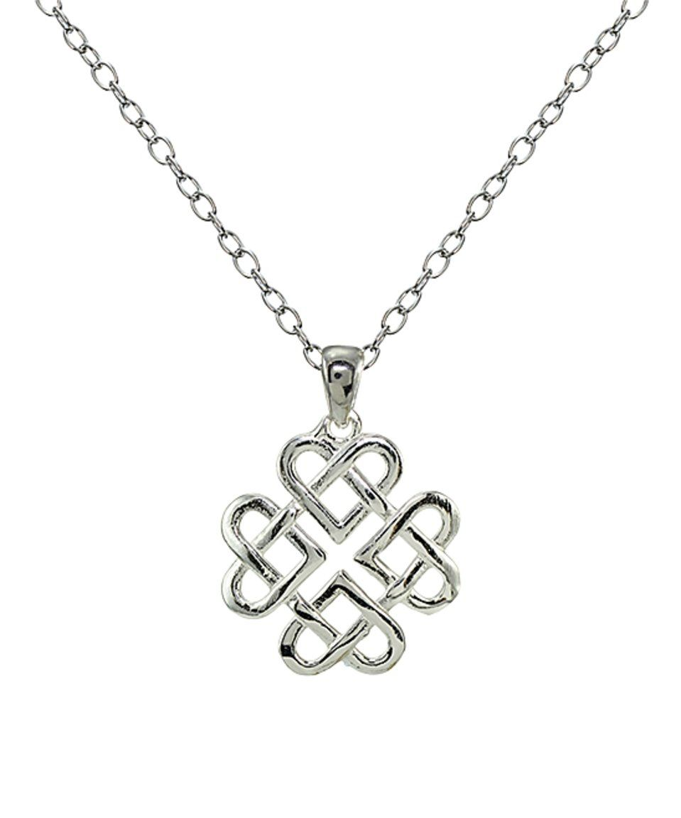 Take a look at this sterling silver celtic love knot pendant