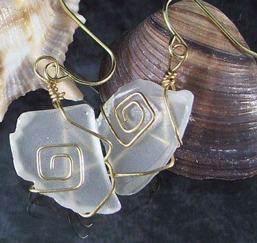 Im going to make some of these out of the giant jar of sea glass I