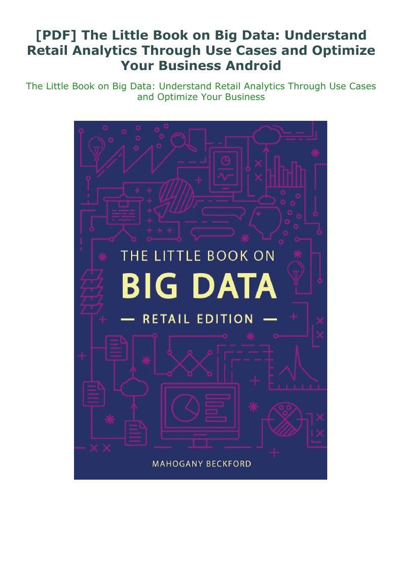 PDF The Little Book on Big Data: Understand Retail ...