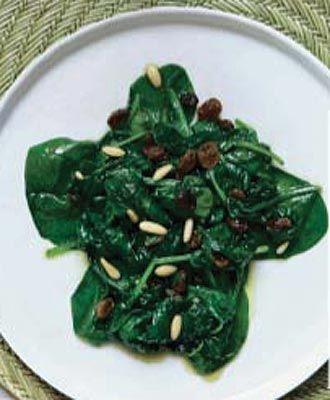 Espinacas con pasas y pi ones cuisine recipes and food for Maneras de cocinar espinacas