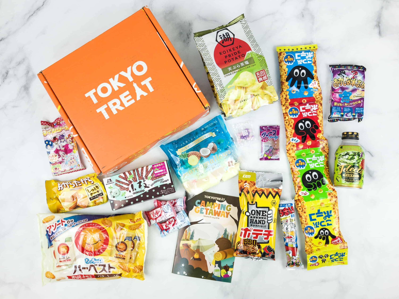 Tokyo Treat Subscription boxes, Tokyo, Japanese snacks
