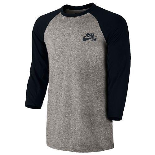 Nike SB Dri-Fit 3 4 Sleeve Henley - Men s  a85903be9