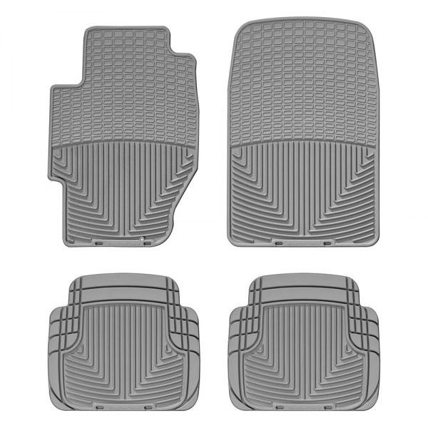 WeatherTech WGRWGR Series Grey Front And Rear AllWeather Floor - 2006 acura tl floor mats
