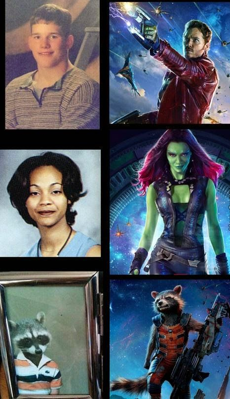 Times New Geek: We All Have To Come From Somewhere (Guardians Of The Galaxy Cast) #guardiansofthegalaxy #funny #retro #marvel
