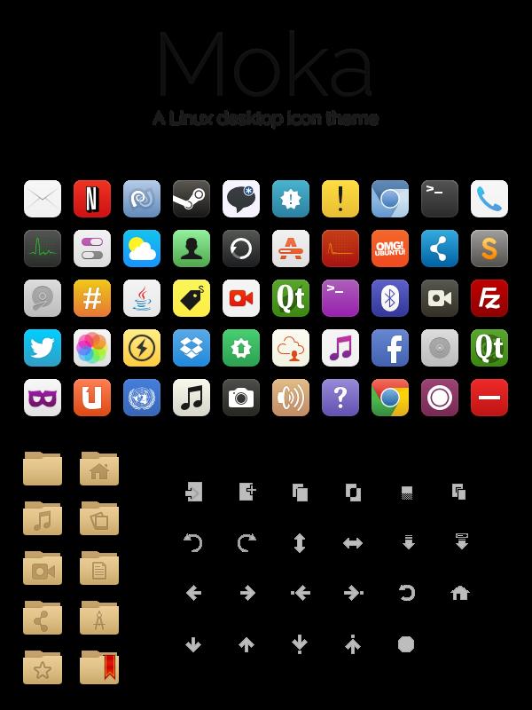 Moka Icon Theme by hewittsamuel deviantart com on