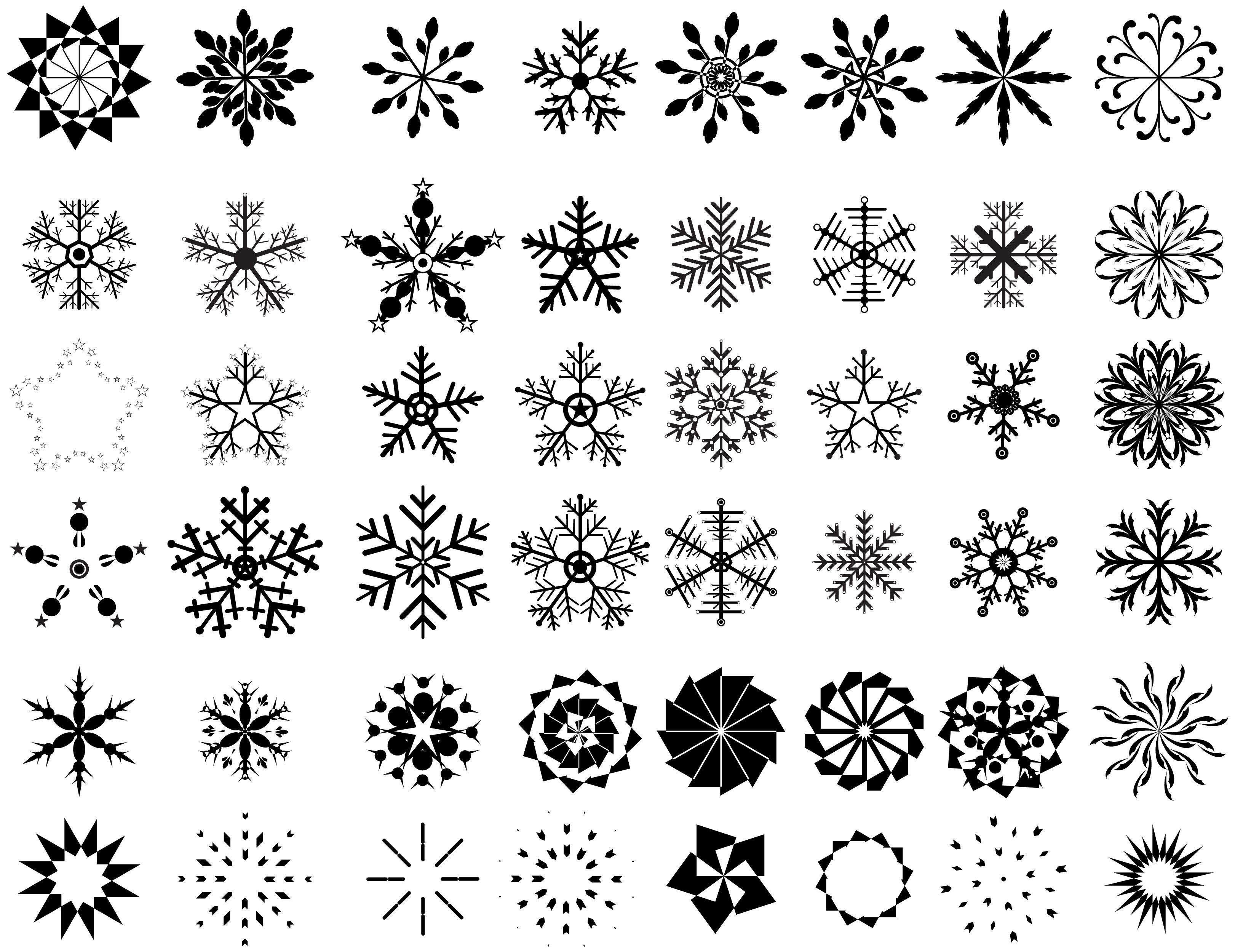 printable snowflake patterns pin printable snowflakes snowflake