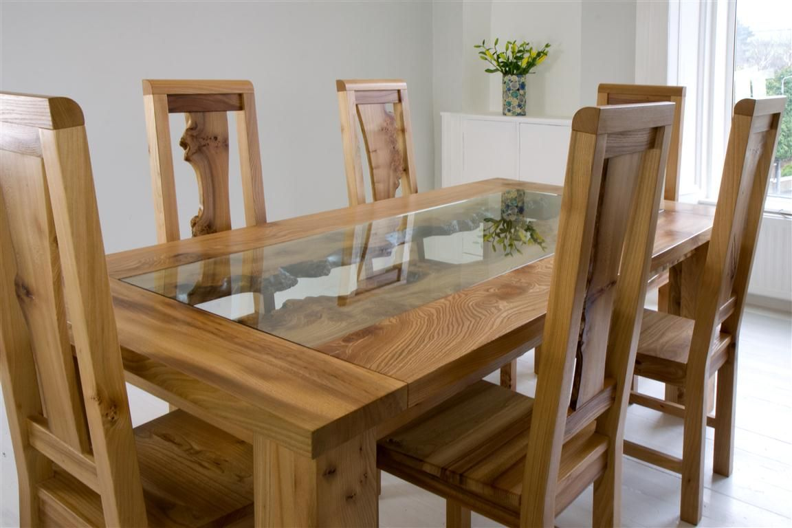 unique dining furniture. Gorgeous Wood And Glass Table From Scottish Furniture Designers Unique Dining I