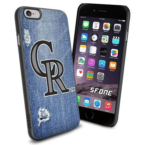 Colorado Rockies MLB Jeans Logo WADE6099 Baseball iPhone 6 4.7 inch Case Protection Black Rubber Cover Protector WADE CASE http://www.amazon.com/dp/B013YZ6628/ref=cm_sw_r_pi_dp_W3KDwb11MN7XH