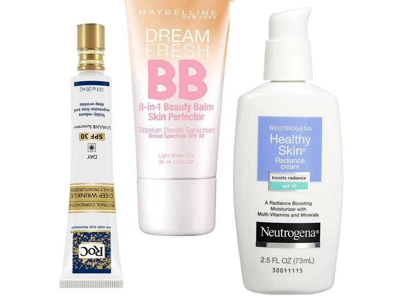 10 best drugstore face moisturizers with spf | sole e estate, Skeleton