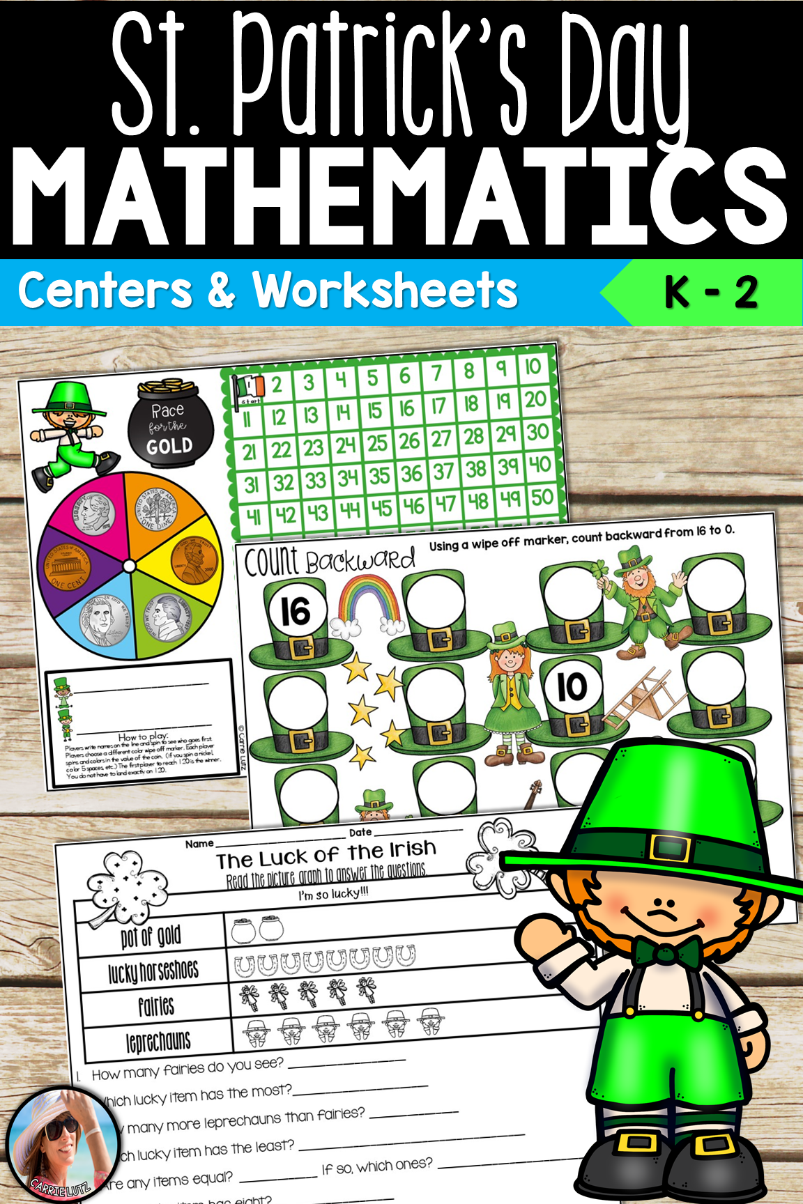 St Patrick S Day Math Centers And Worksheets