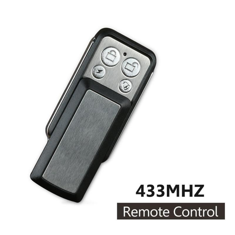 Universal Wireless 433mhz 12v Copy Transmitter Cloning Garage Door Opener Relay Receiver Module Key Fob Pc Remote Control Remote Control Electronic Accessories