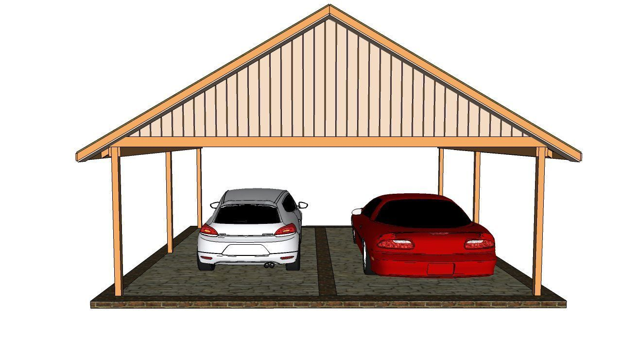 Double carport plans Free Outdoor Plans DIY Shed Wooden