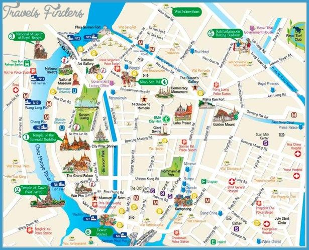 Gilbert town Map Tourist Attractions httptravelsfinderscom