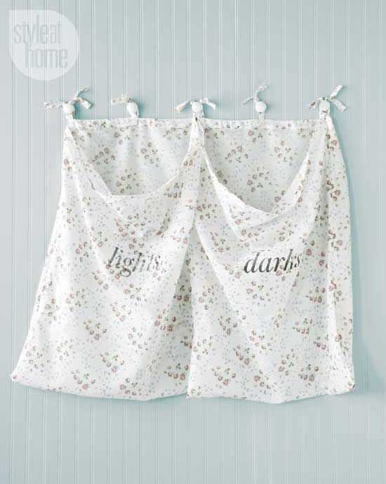 Diy wall mounted laundry hamper laundry hamper diy wall and hamper diy wall mounted laundry hamper by catherine therrien styleathome managing editor and resident crafter solutioingenieria Image collections