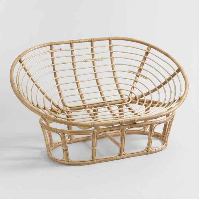 Living Room Translate To Indo: Our Double Papasan Chair Frame Is Beautifully Handcrafted