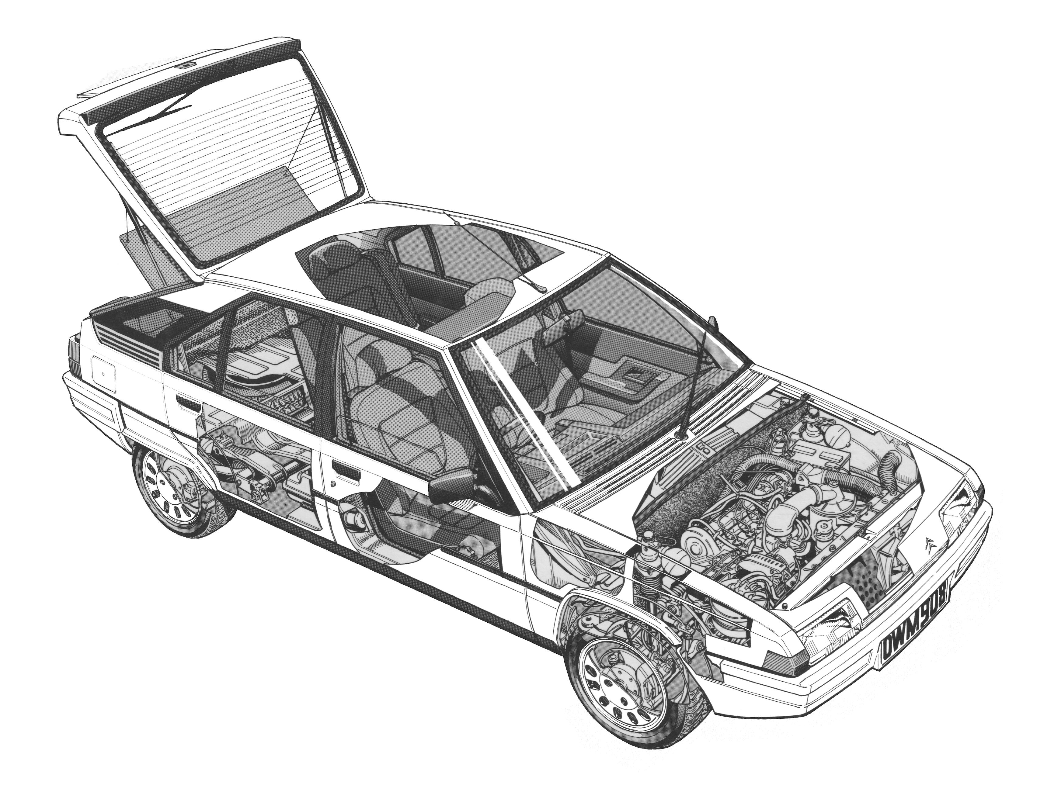 BX - cutaway line drawing | Cutaway | Pinterest | Cutaway, Technical ...