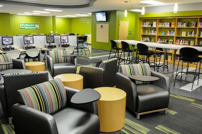 Hillwood High School Unveils State Of The Art Library