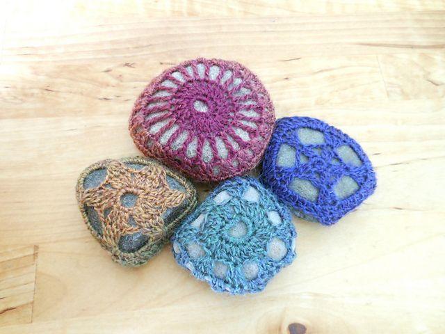 Ravelry: Crocheted stones pattern by A la Sascha
