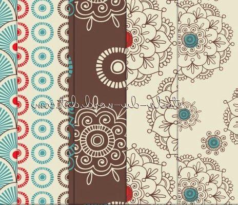 مجموعة باترن فوتوشوب زخارف جميلة Patterns عالم الفوتوشوب Pattern Prints Printed Shower Curtain
