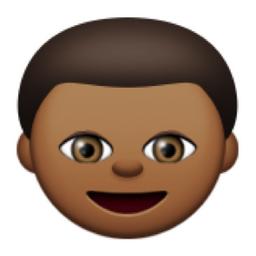 Deeper Brown Boy Emoji U 1f466 U 1f3fe Medium Dark Skin Tone Dark Brown Skin Color Emoji