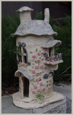 A Fairy house, you can put led lights in. Sold.