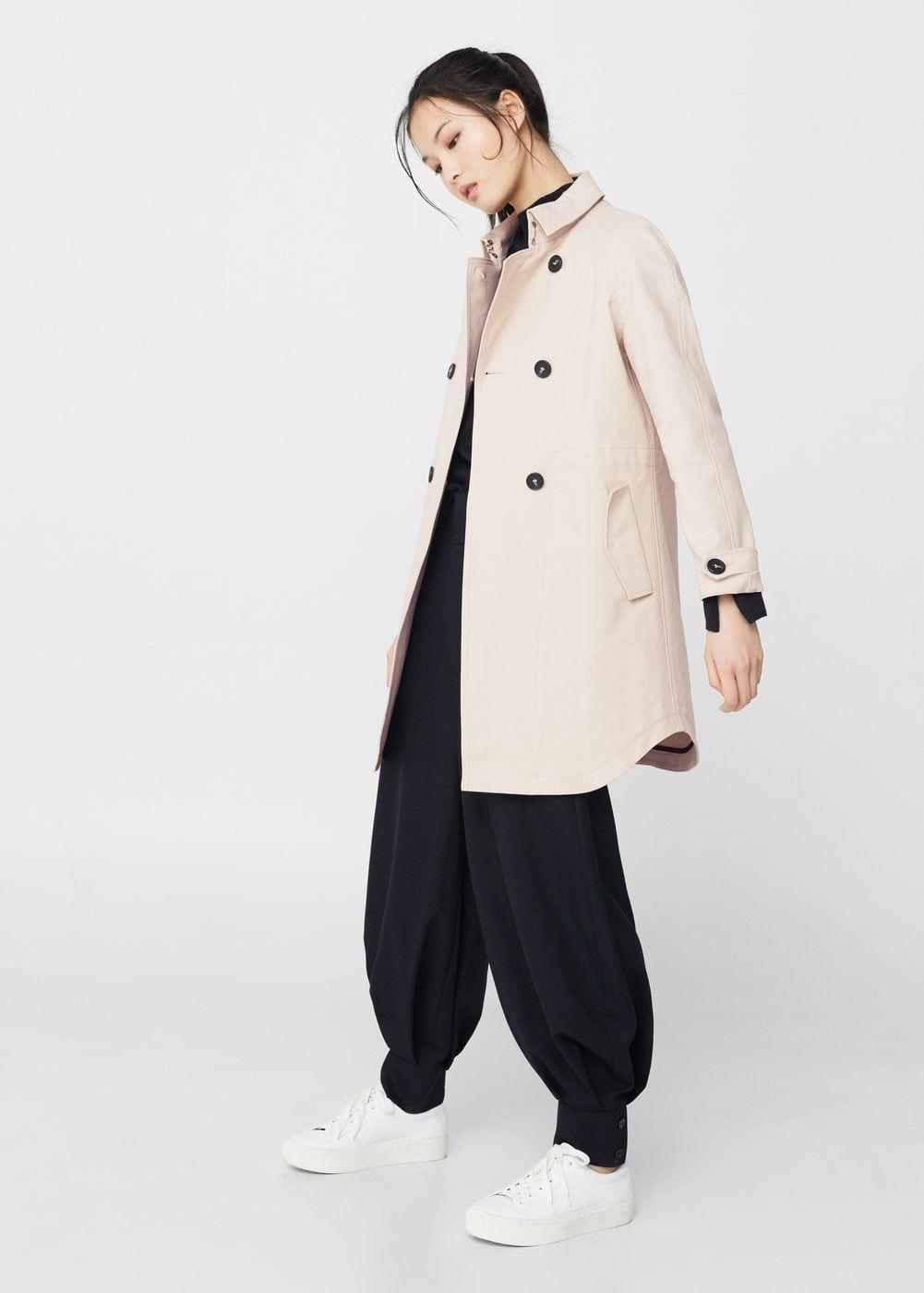 ffdd8948c4 Classic cotton trench coat - Woman