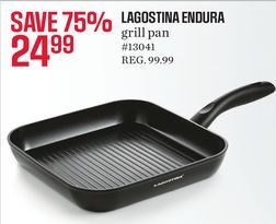 Lagostina Endura Grill Pan from Sears Canada $24.99 (75% Off) -