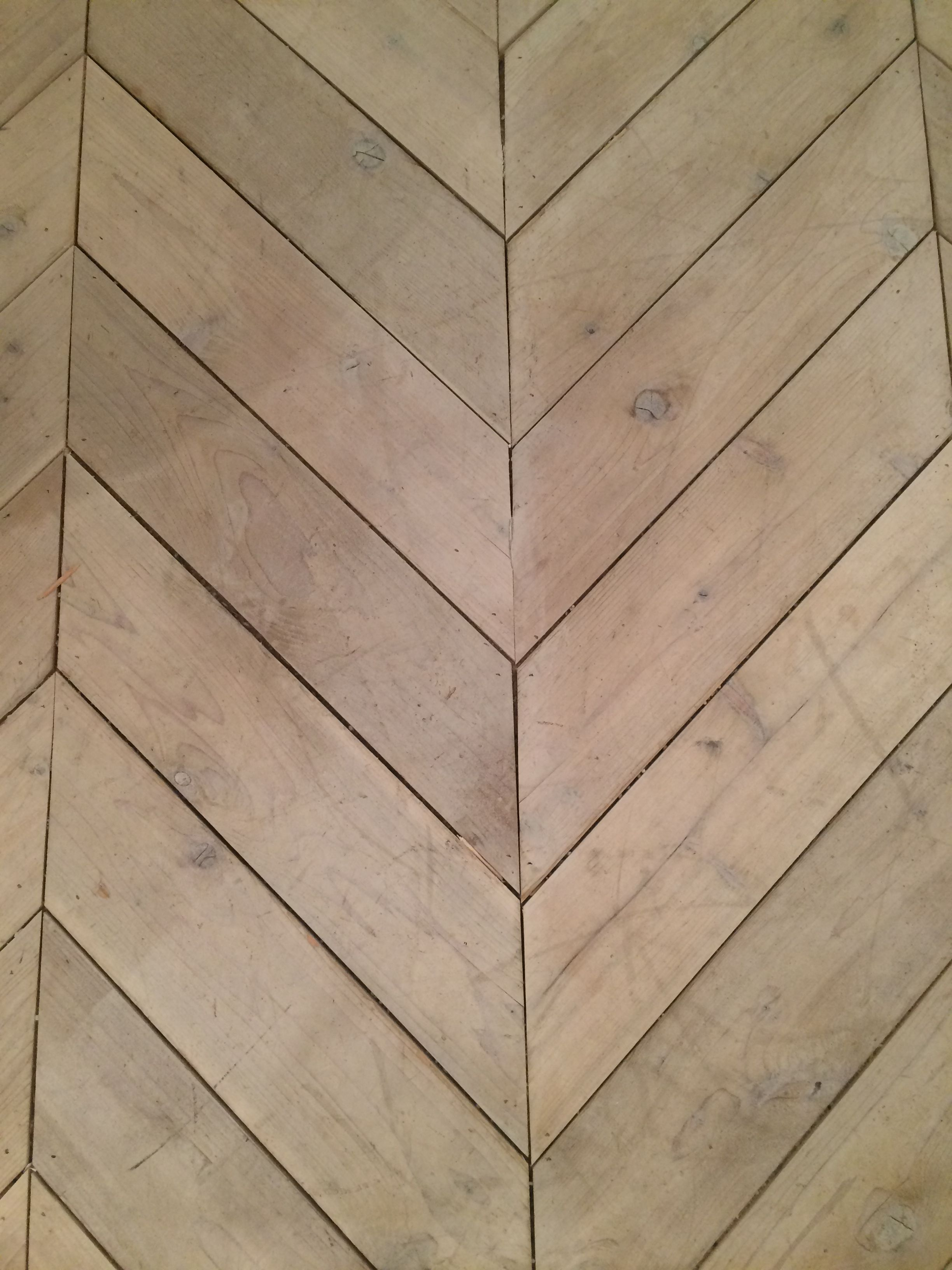 I Loved This Chevron Wood Pattern Wall