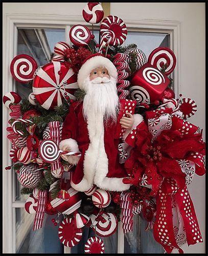 Best 10 Christmas Wreaths for the Front Door  felt craft