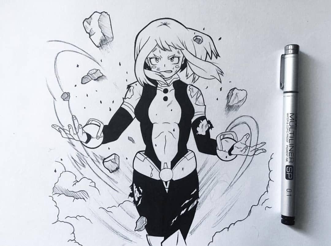 Uraraka By Infinity Draw Visit