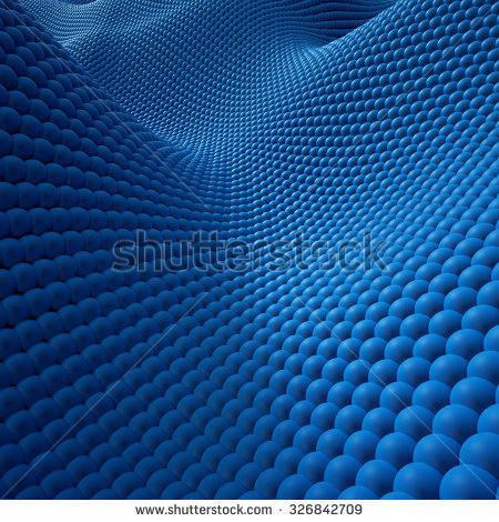 Abstract 3d Background Blue Wavy Wallpaper Qm In 2019