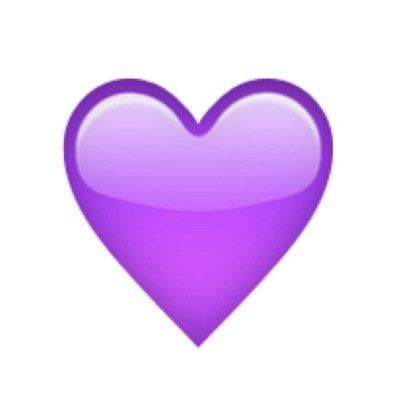 Purple Heart Emoji Janophobia Purple Emoji Heart Emoji Emoji