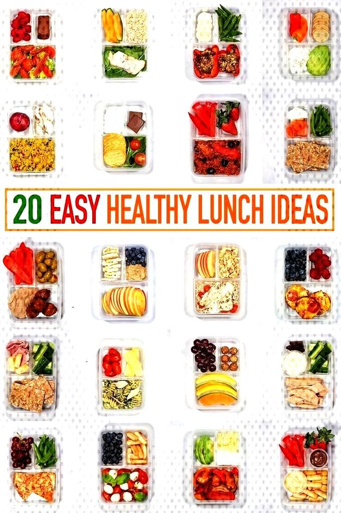 whole month ofHealthy Lunch Ideas all in one place - These make ahead, healthy lunch ideas for wo
