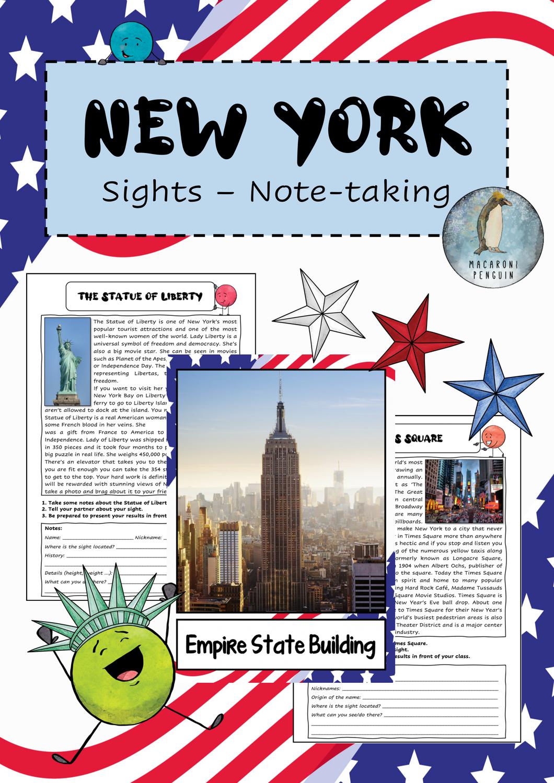 New York Sehenswürdigkeiten Deutsch