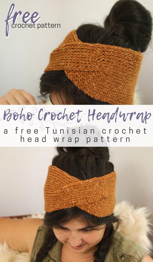 Twisted Boho Crochet Headwrap Pattern | Crafting | Pinterest ...