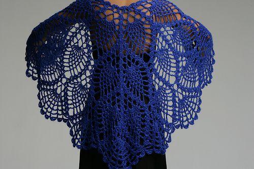 All Shawl pattern by Doris Chan | Tücher, Schals und Tuch häkeln