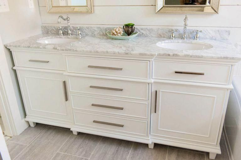 Minimalist Bathroom Shelves Smallbathroomshelf Id 5888754416 With Images Bathroom Vanity Double Sink Bathroom Vanity Double Vanity Bathroom