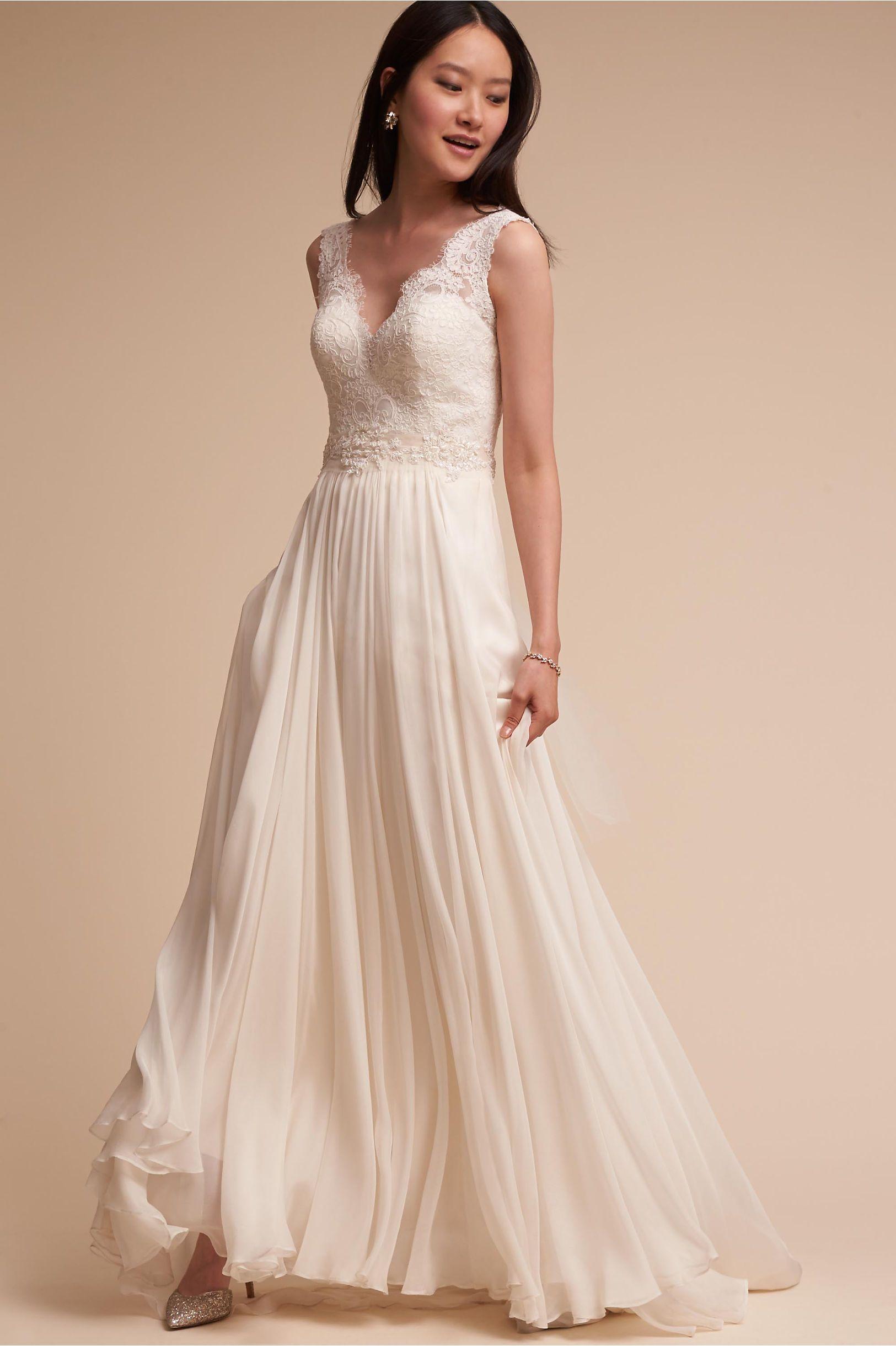 Bhldn pirouette corset top delia maxi skirt in bride