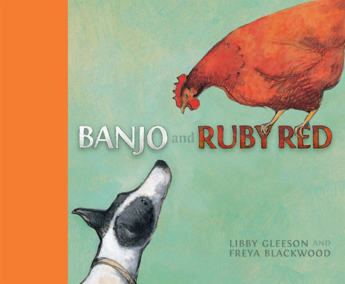 Banjo and Ruby Red books www.luckyher.com