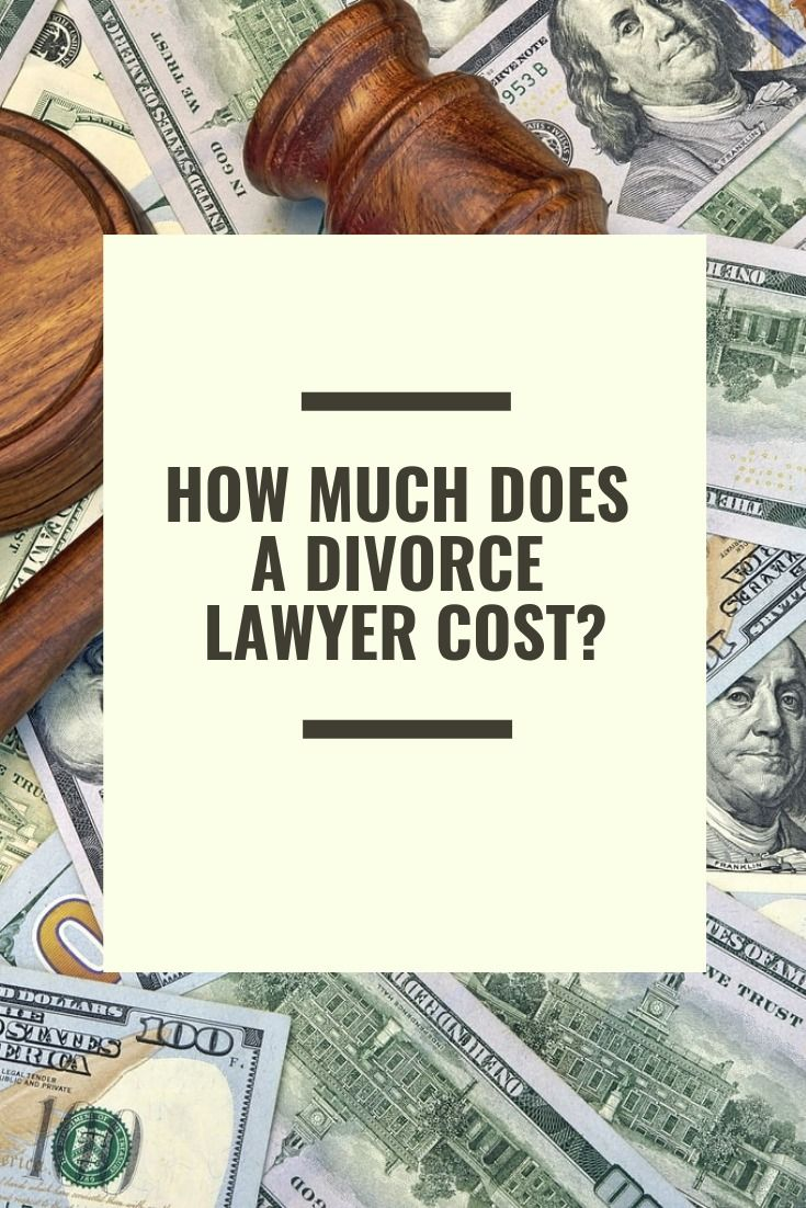 How Much Does A Divorce (Lawyer) Cost? Schiefer Law Firm