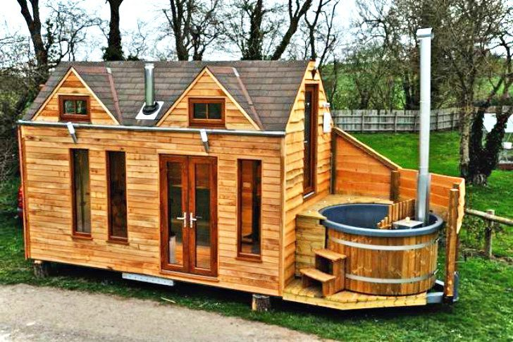 Sensational Beautiful Tiny Houses 12 Beautiful Tiny House On Wheel Home Remodeling Inspirations Gresiscottssportslandcom