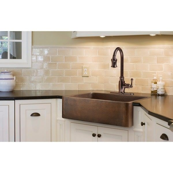 Sinkology Adams 33-inch Farmhouse Apon Front Kitchen Sink ...