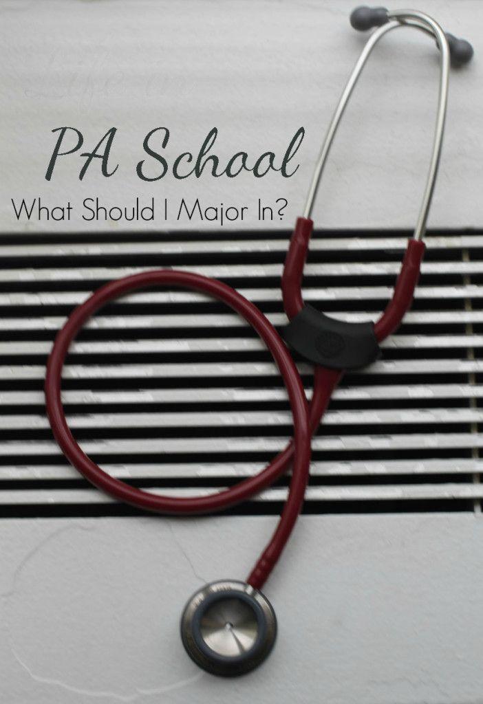 PA School What Should I Major In? PA School Pinterest Pa