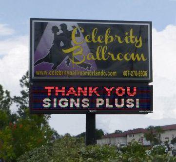 Full Color LED Sign, Celebrity Ballroom