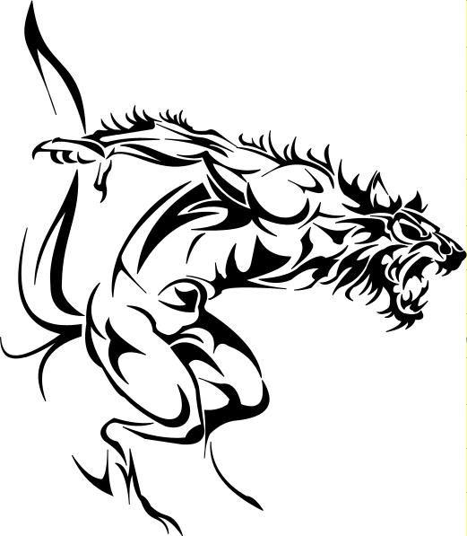 Licantropo By Ioancuza On Deviantart Tribal Wolf Tattoo Tribal Tattoos Tribal Tattoo Designs