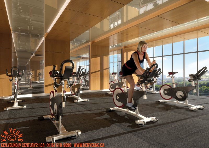 fitness rendering Google Search Spinning workout
