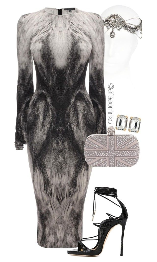 """""""So foxy"""" by efiaeemnxo ❤ liked on Polyvore featuring Emanuele Bicocchi, Accessorize, Alexander McQueen, Dsquared2 and House of Lavande"""