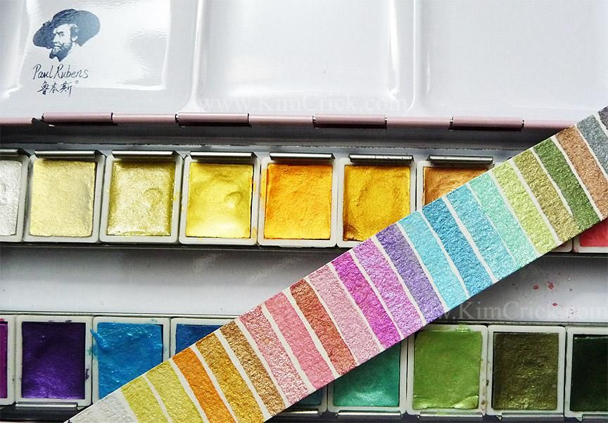 Doodlewash Review White Nights Watercolours Watercolor Pallet
